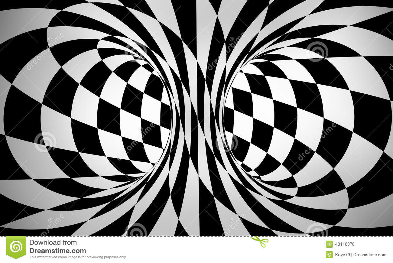 Abstract Black And White 3d Background Stock Illustration - Image ...