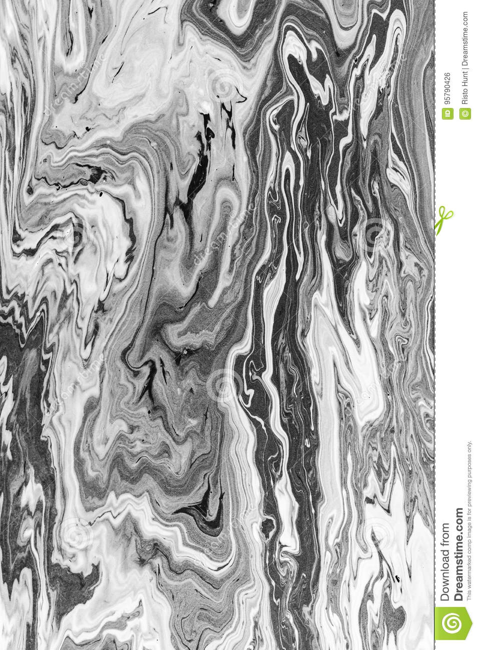 Abstract black and white digital art background