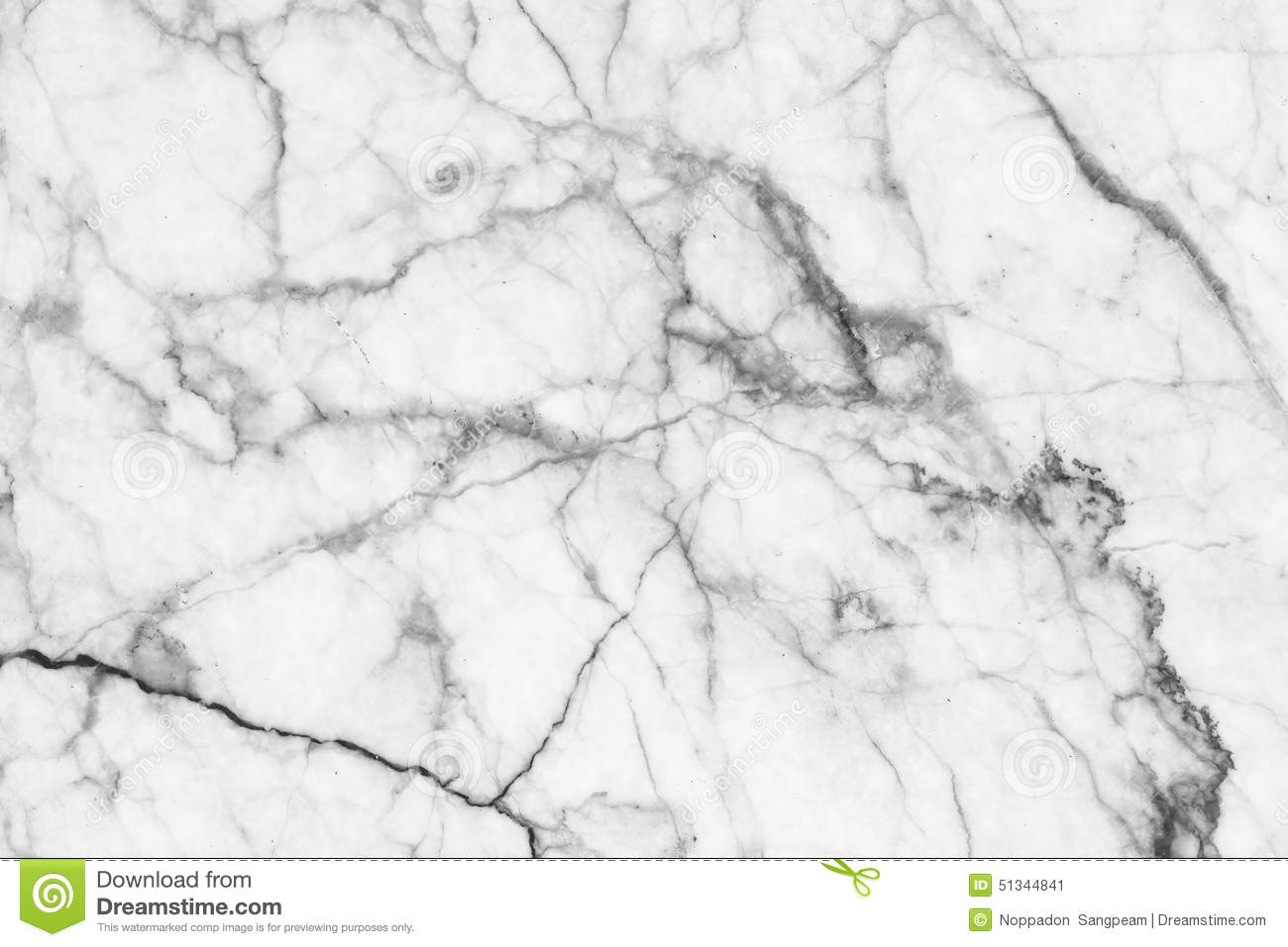 Abstract Black And White Marble Patterned (natural ...