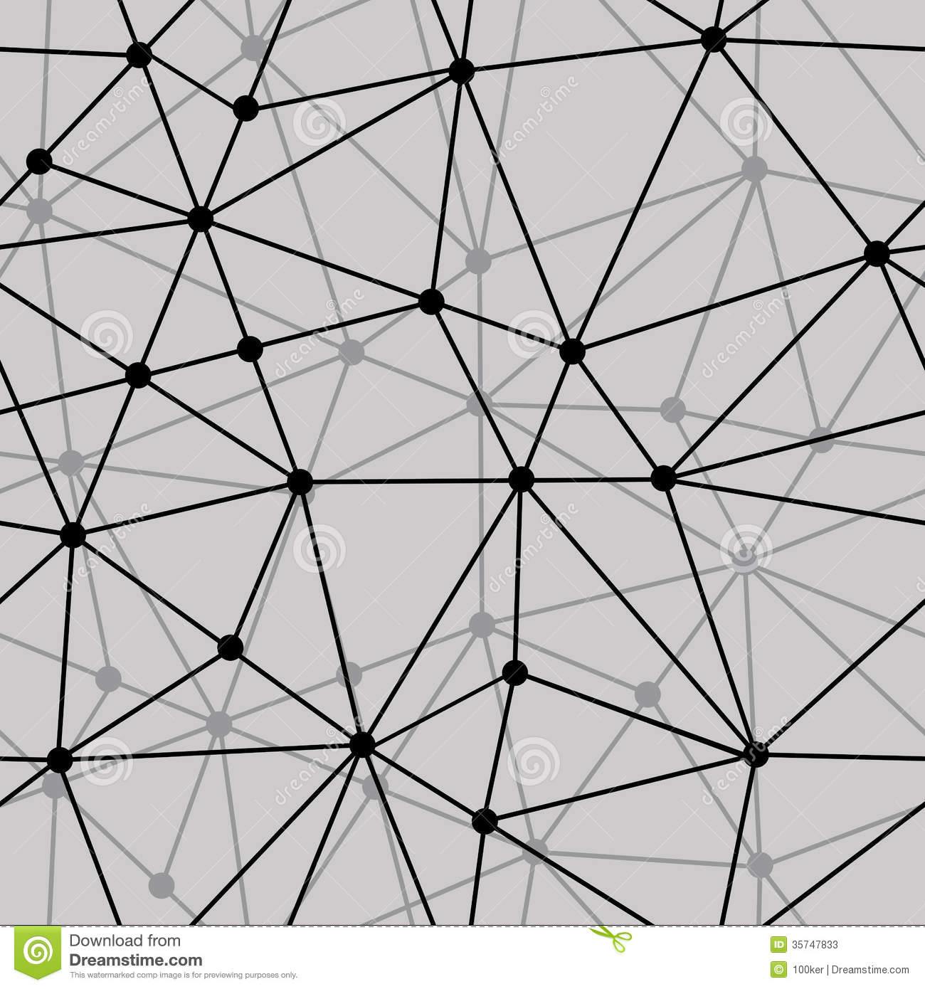 Abstract Black And White Net Seamless Background Stock ...