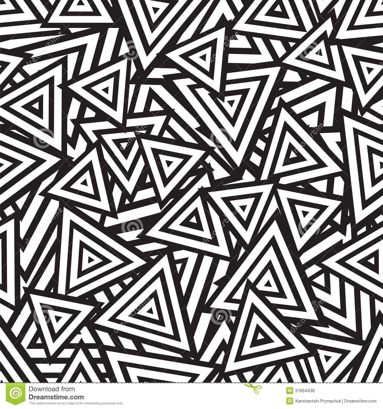 Abstract black and white seamless pattern vector royalty free stock photos image 37664438 - Design art black and white ...