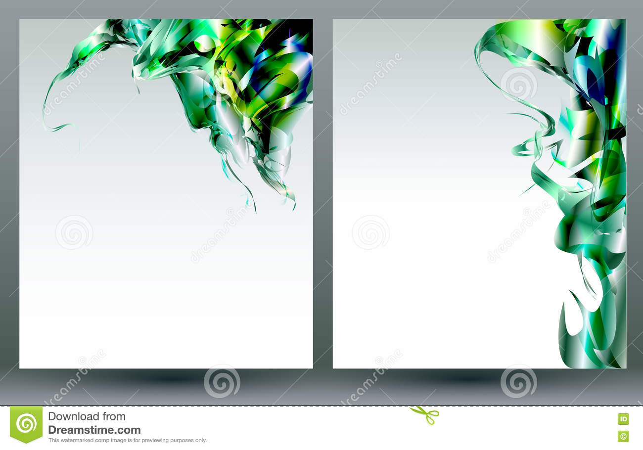 blank flyer background templates