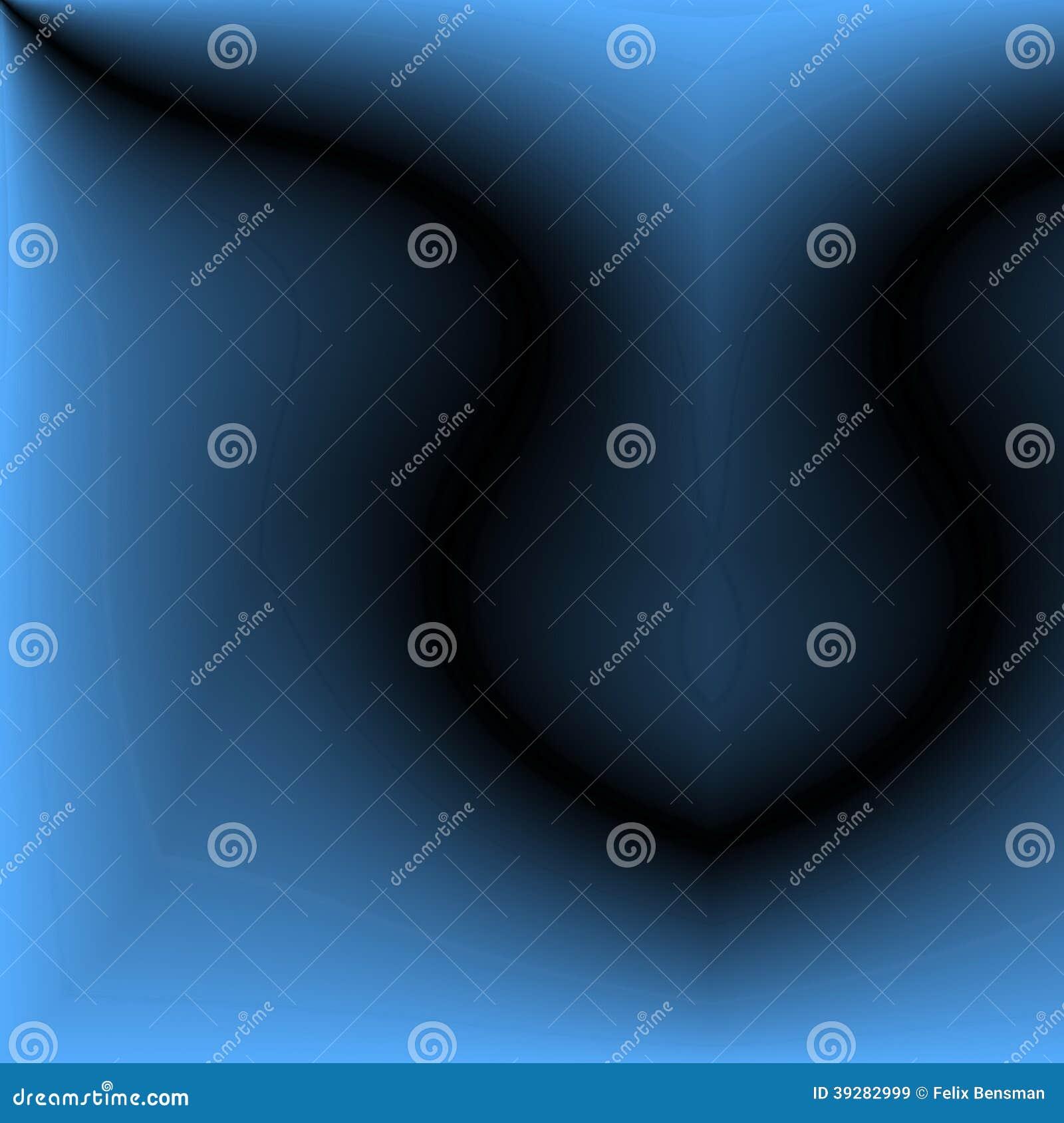 Abstract blauw beeld van geborstelde metaaloppervlakte.