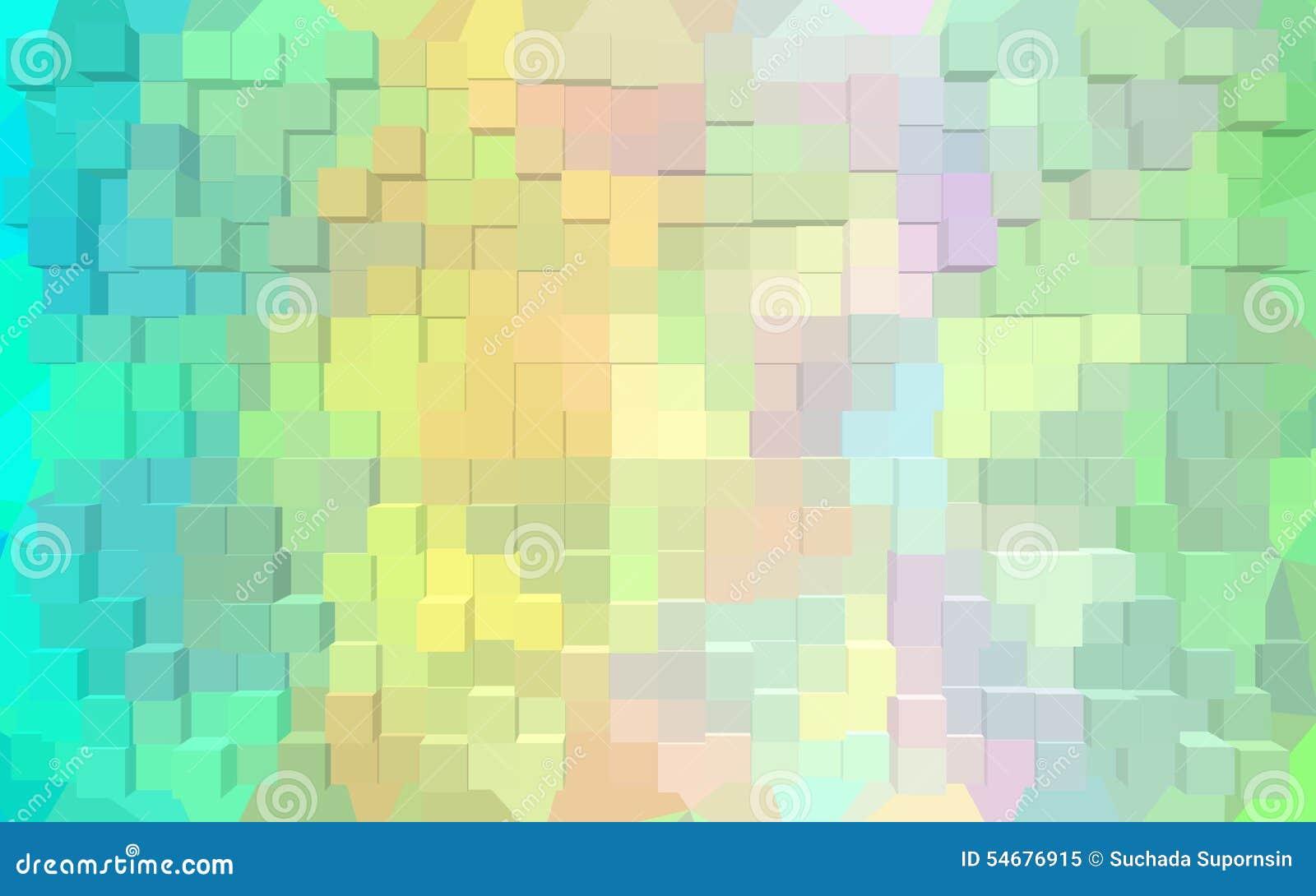 Abstract Block Pattern Wallpaper. Stock Illustration - Illustration ...