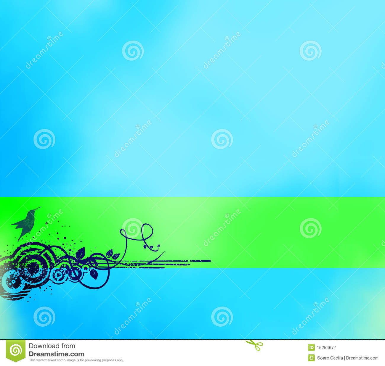 Royalty Free Stock Photo Download Abstract Blue Background With Banner