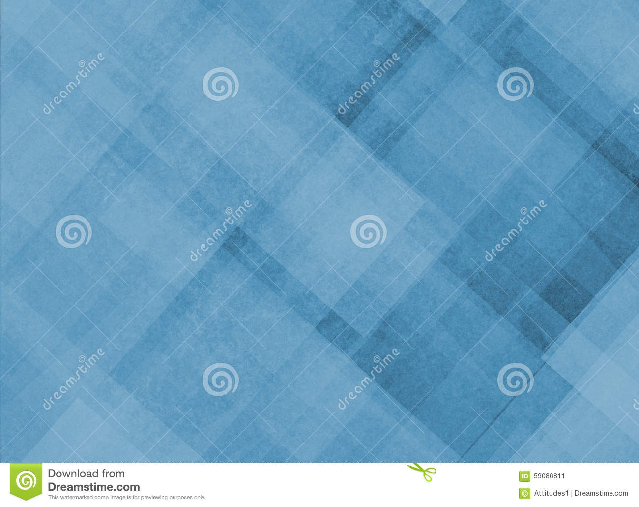 Lines And Shapes : Abstract blue background with diagonal stripes lines and