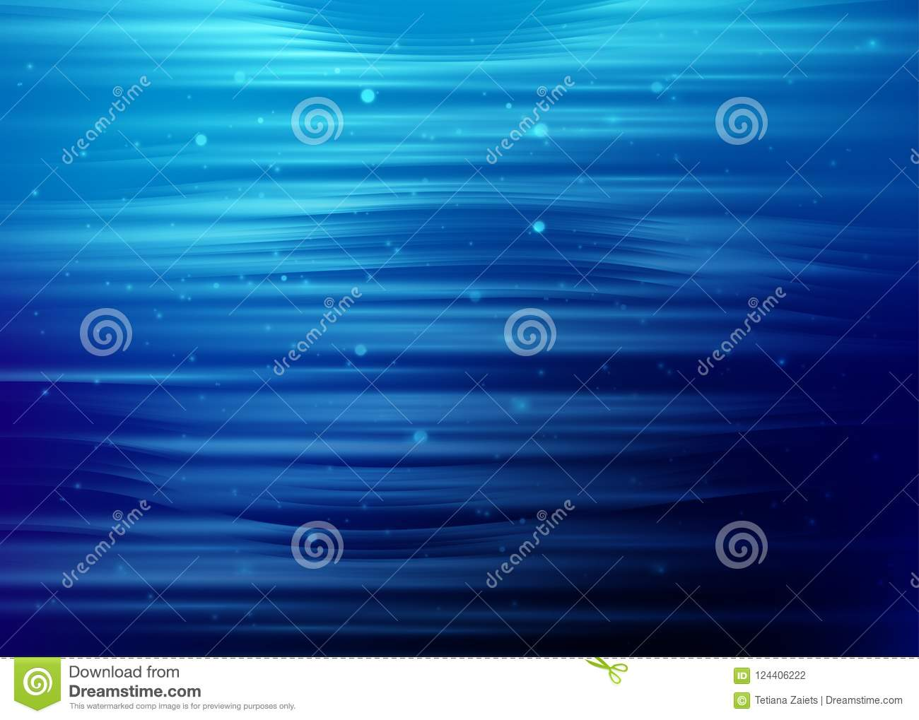 Abstract Technology Background With Light Effect: Abstract Blue Background With Light Dot Particles And