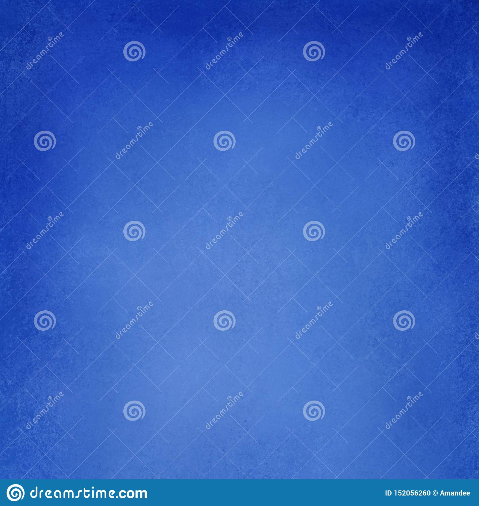 Abstract Blue Background Texture, Solid Bright Blue Vintage