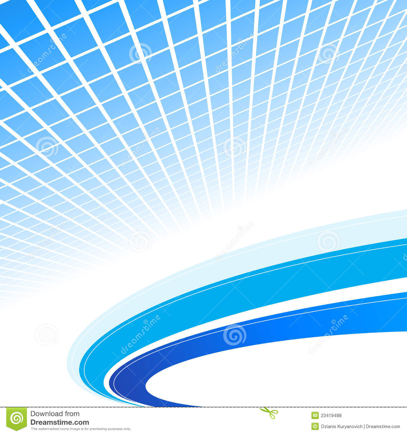 Abstract Blue Background. Vector Illustration Stock Vector ...