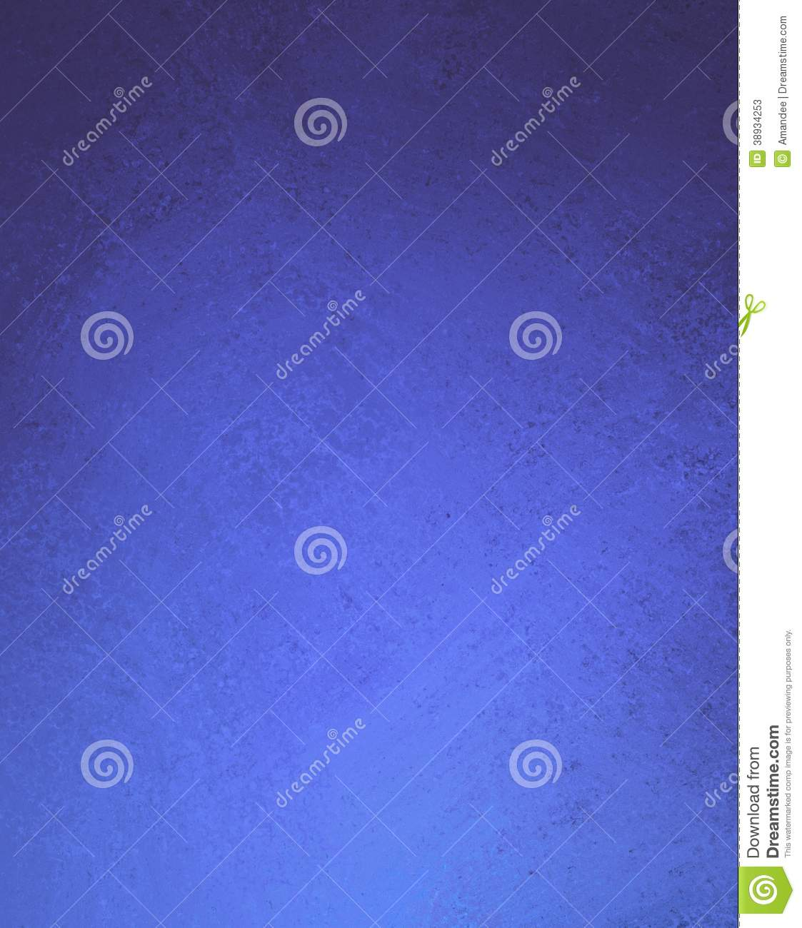 Abstract Blue Background Vintage Texture Stock Illustration