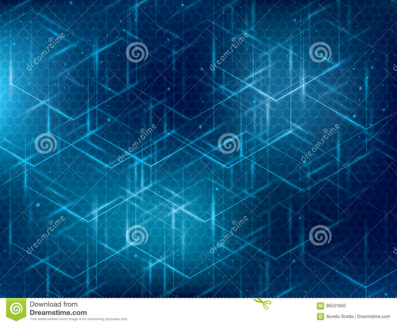 Backgrounds Abstract Vector Blue Color Line Light