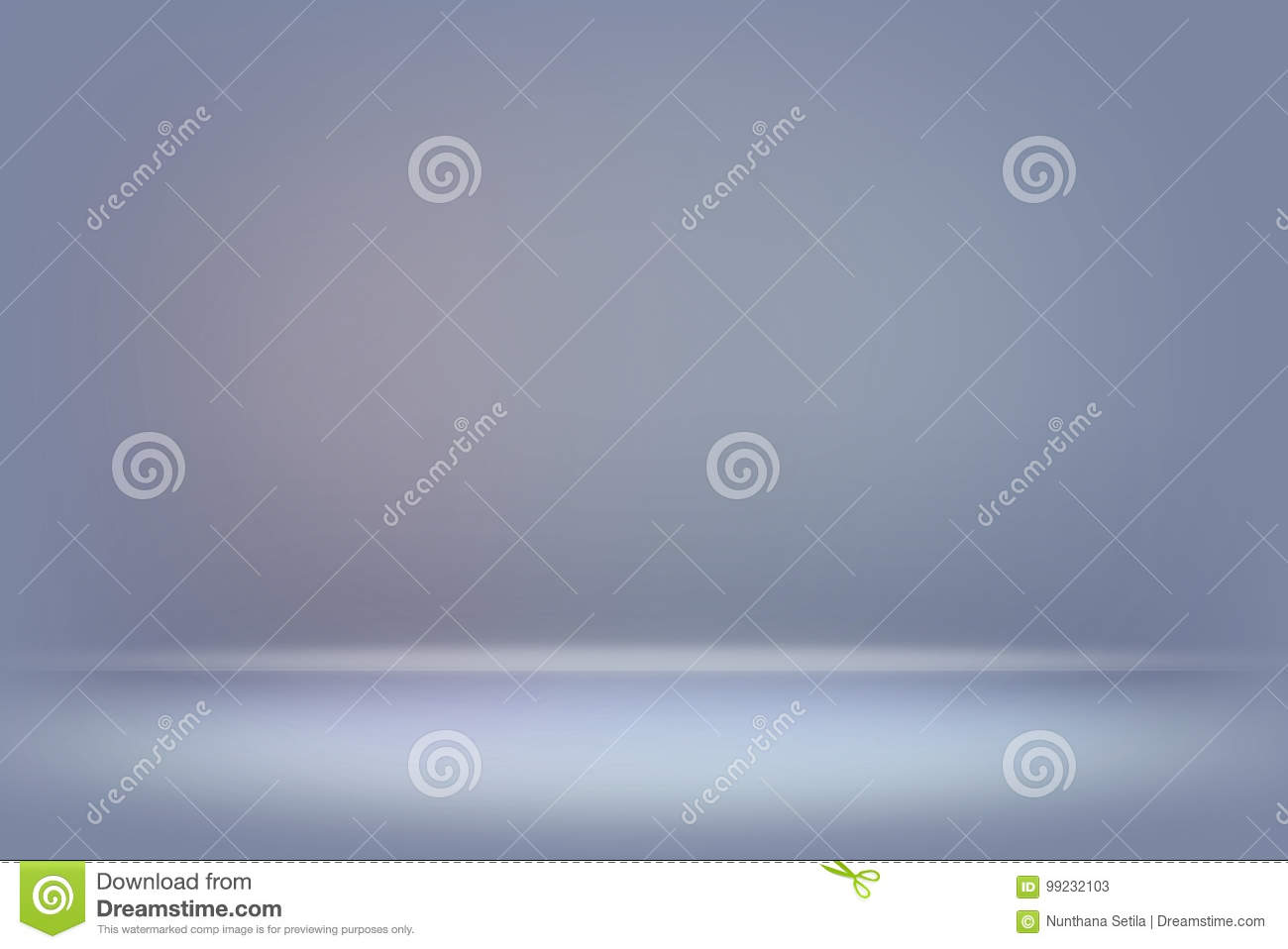 Abstract blue blurred smooth background color gradient wall