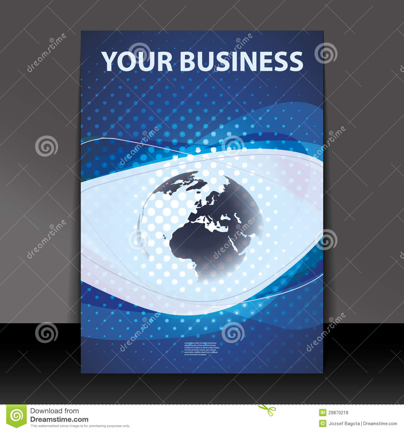 flyer or cover design business royalty stock photos image flyer or cover design business