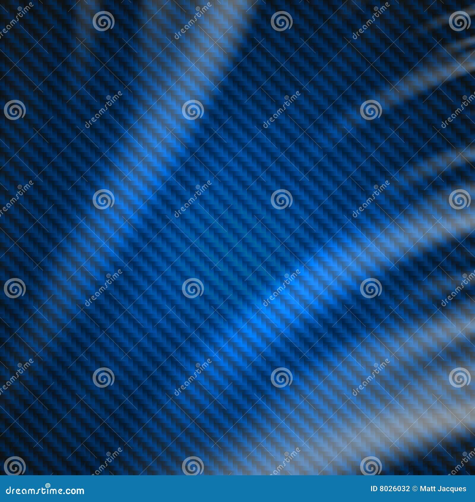 abstract blue carbon fiber background stock illustration