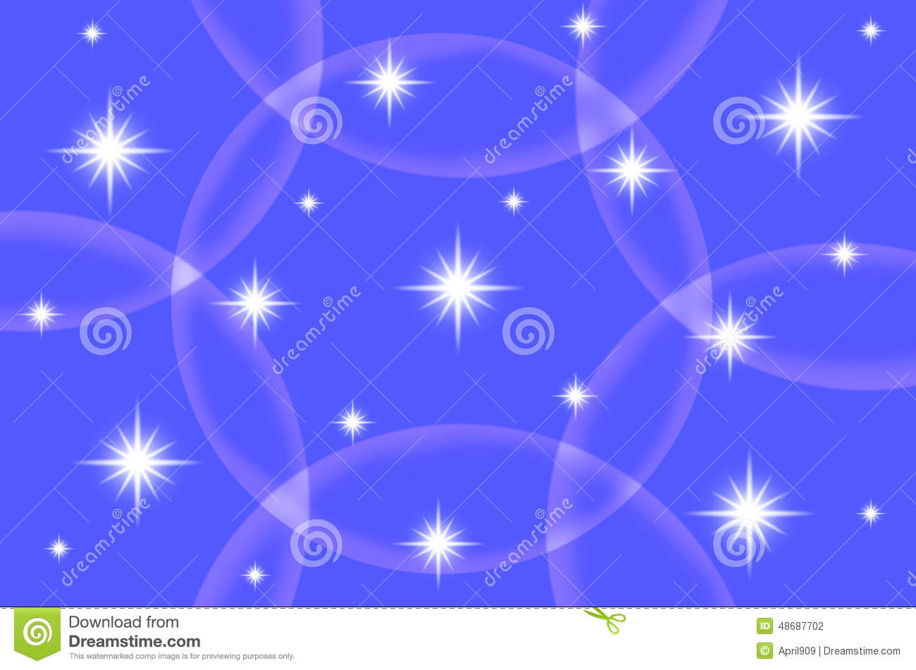 Abstract Blue Color Background With Star Stock Illustration All Backgrounds Color