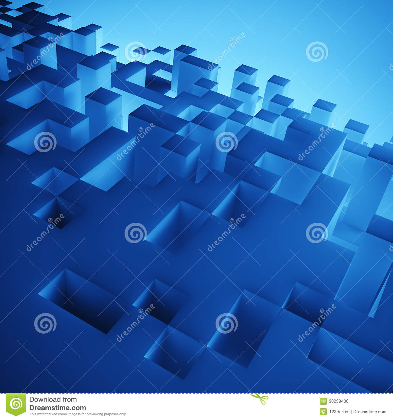 3d abstract cubes background - photo #6
