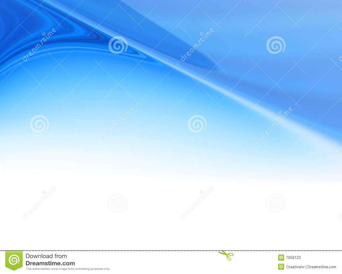 abstract blue flare header background stock illustration