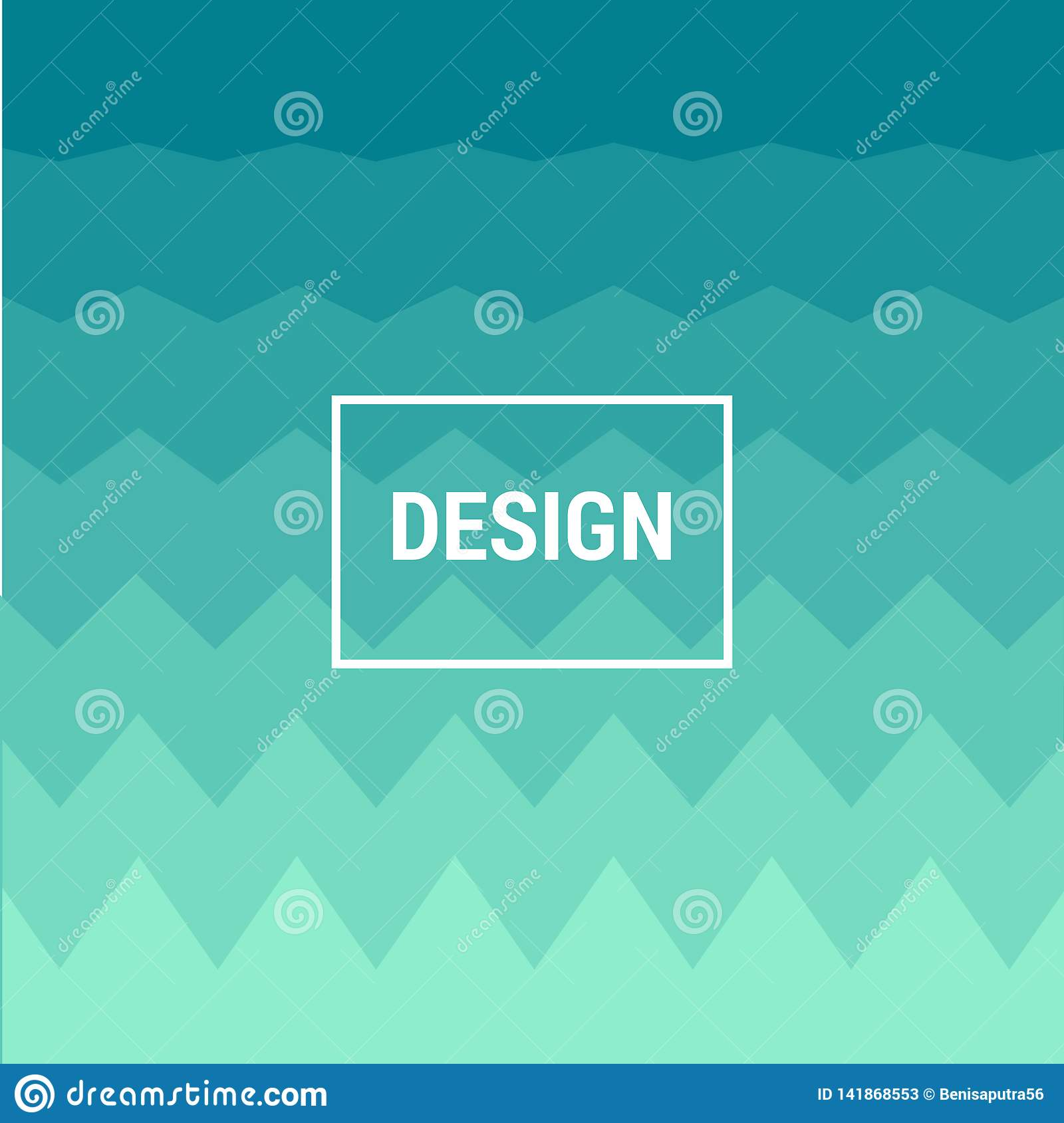 Abstract blue geometric zigzag background modern fun hipster background texture design. illustration for web background template