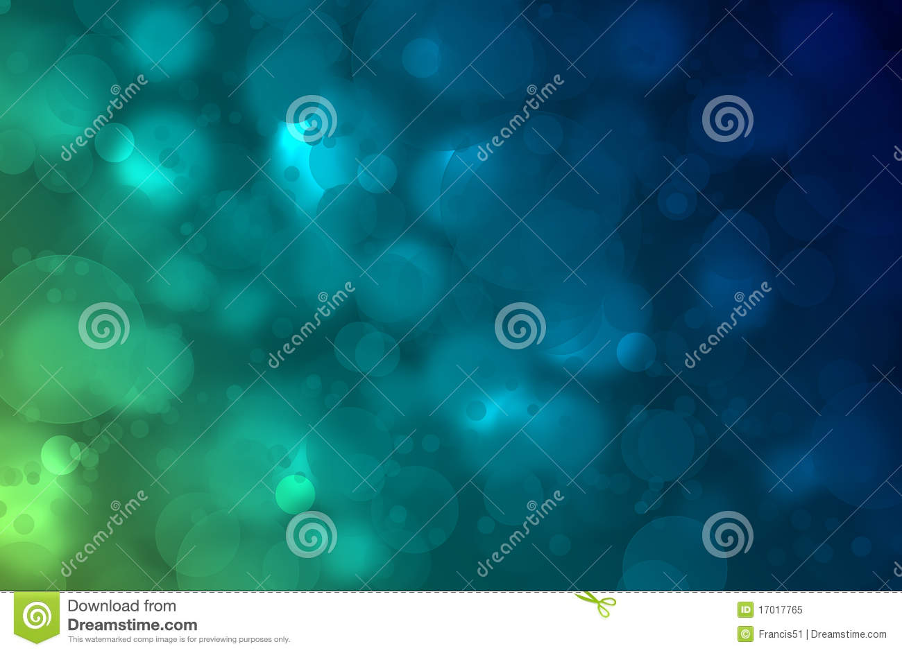 Abstract Blue Green Background Stock Image - Image: 17017765