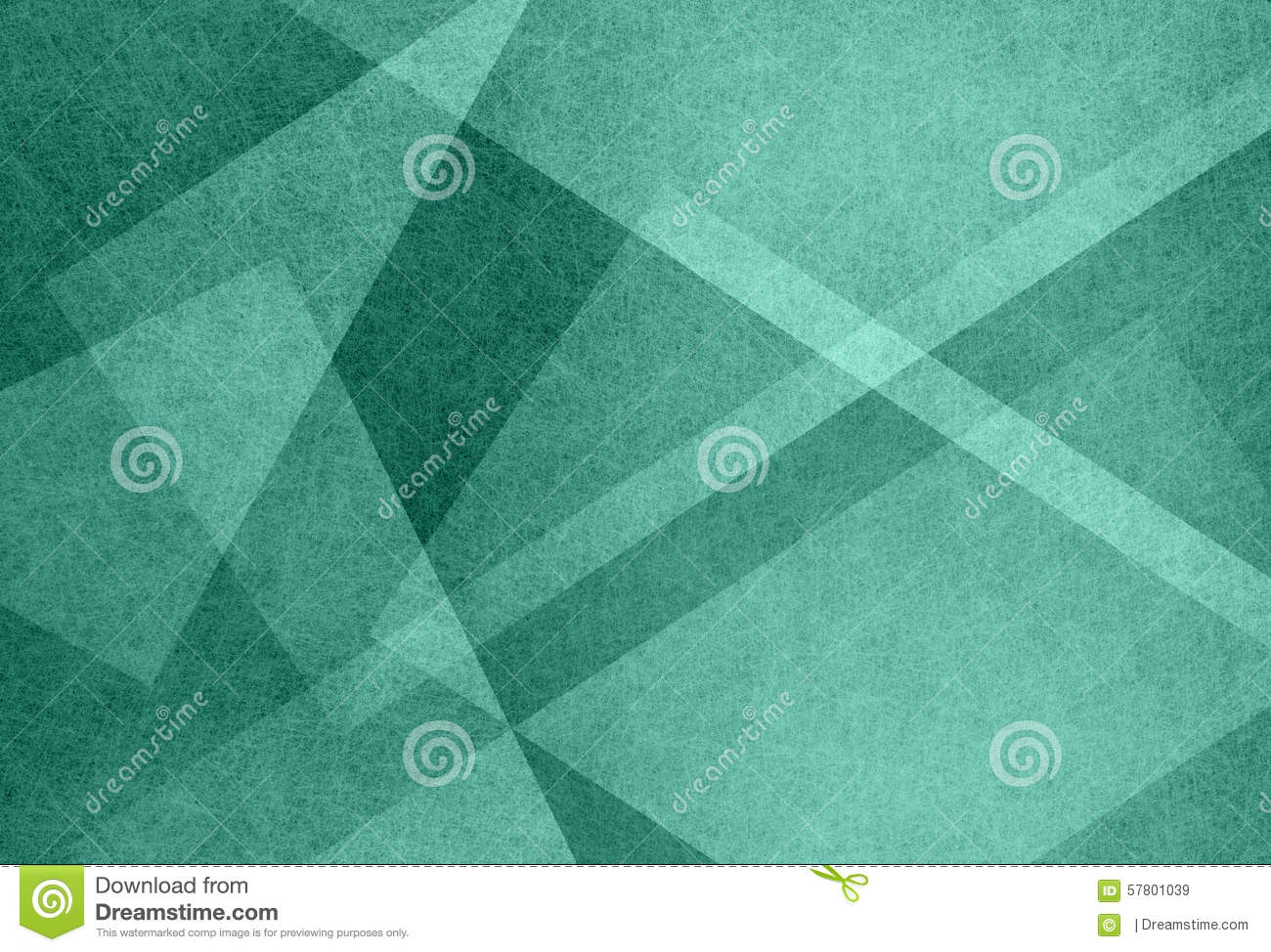 Abstract blue green background with triangle shapes and diagonal line design elements