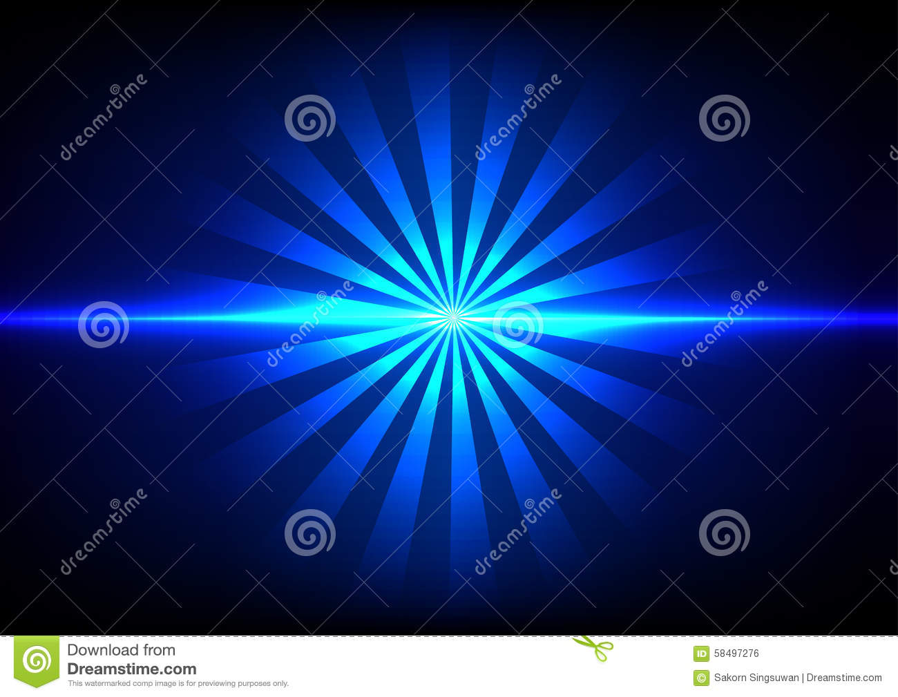 Abstract Blue Light Sunlight Effect Background Stock Vector ... for Sun Light Effect Background  70ref