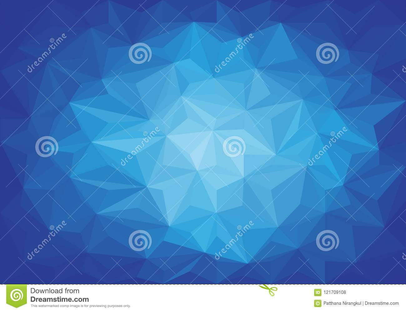Download Abstract Blue Light Triangle 3D Low Polygon Background Texture  Vector Stock Vector   Illustration Of