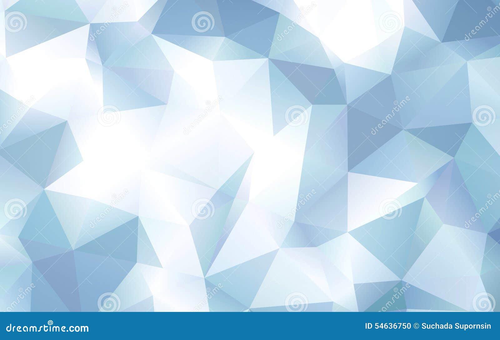 abstract blue polygon pattern wallpaper stock illustration