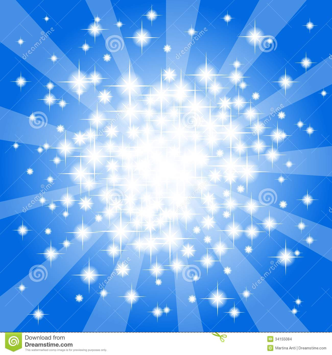 blue star background vector - photo #20