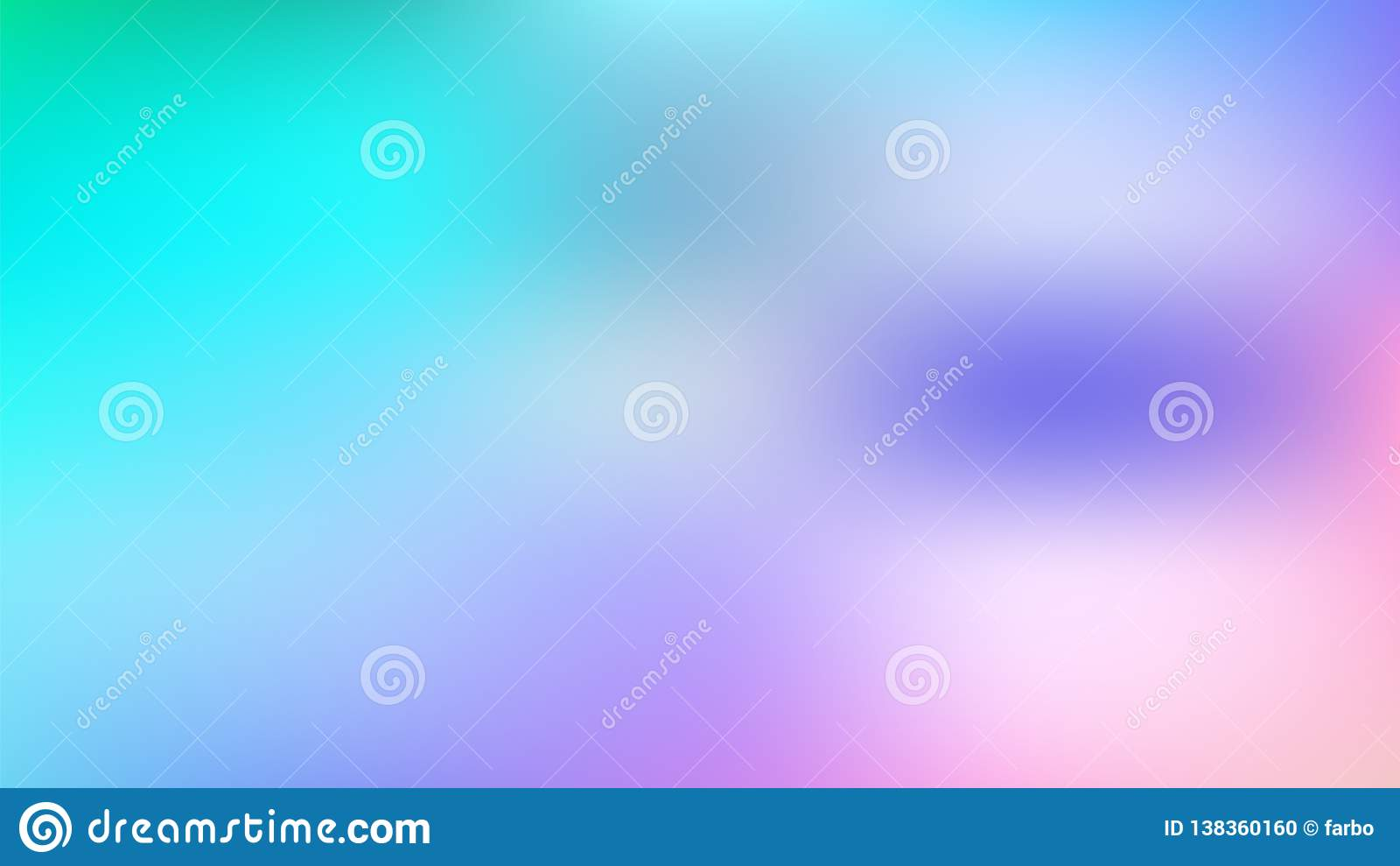 Abstract Blue Violet Pink Gradient Background Stock Vector