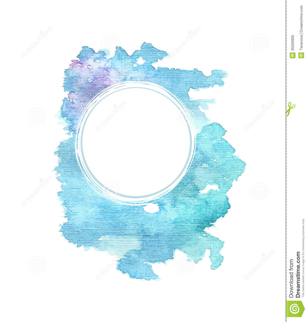 colorful bright watercolor background stock illustration
