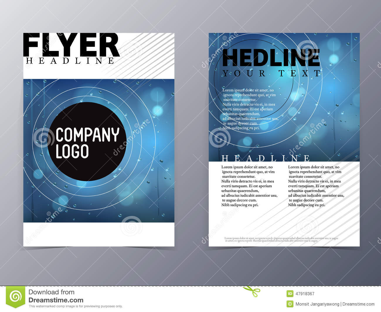 company flyer design