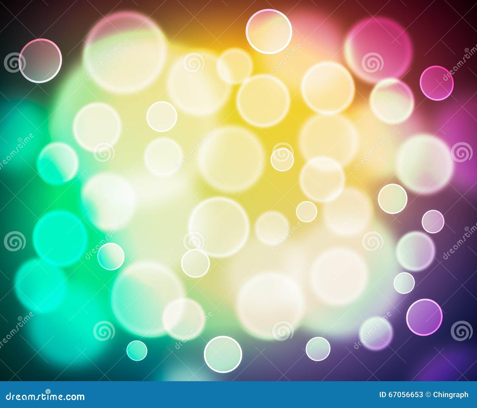 Abstract Blur Boken Background
