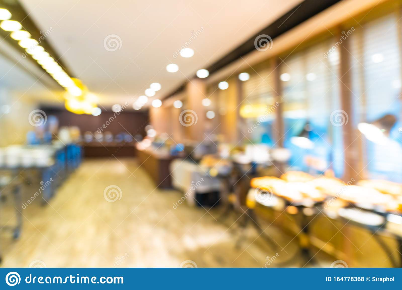 Abstract Blur Coffee Shop Cafe And Restaurant Interior For Background Stock Photo Image Of Mall Chair 164778368