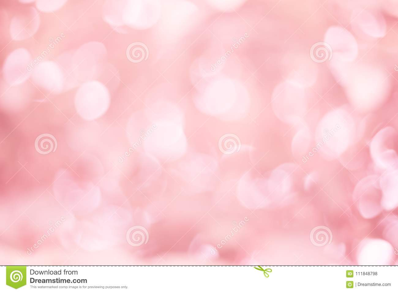 abstract blur pink color for design colorful bokeh light backgr