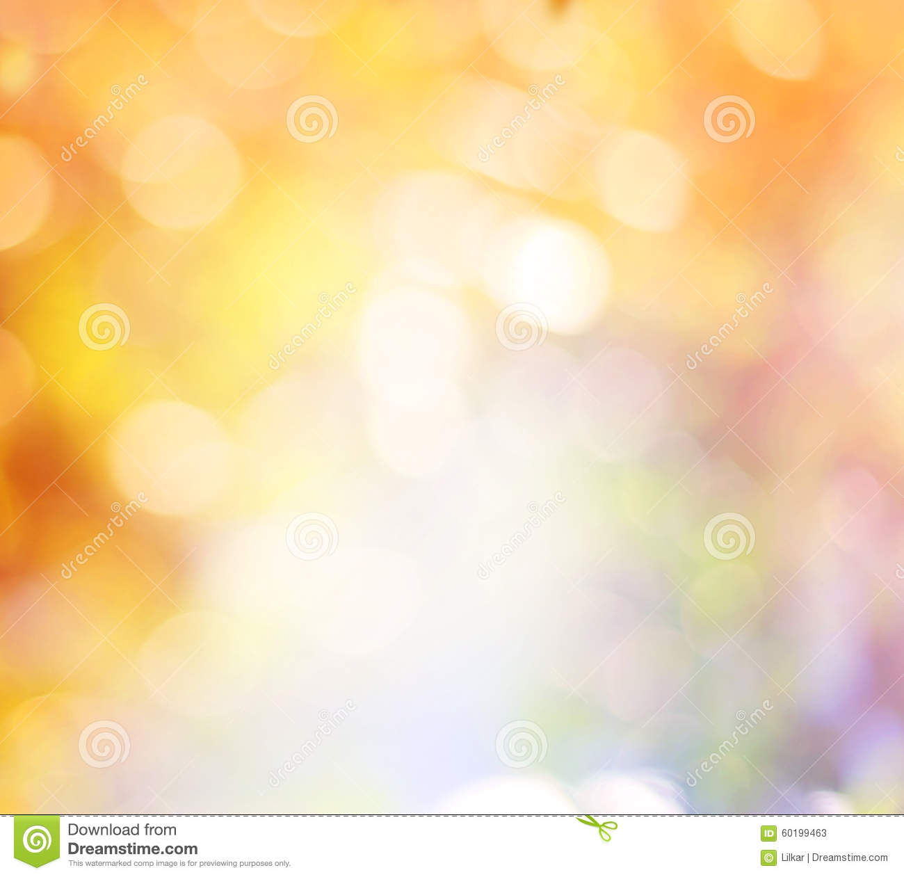 Abstract Blurred Autumn Background. Stock Image