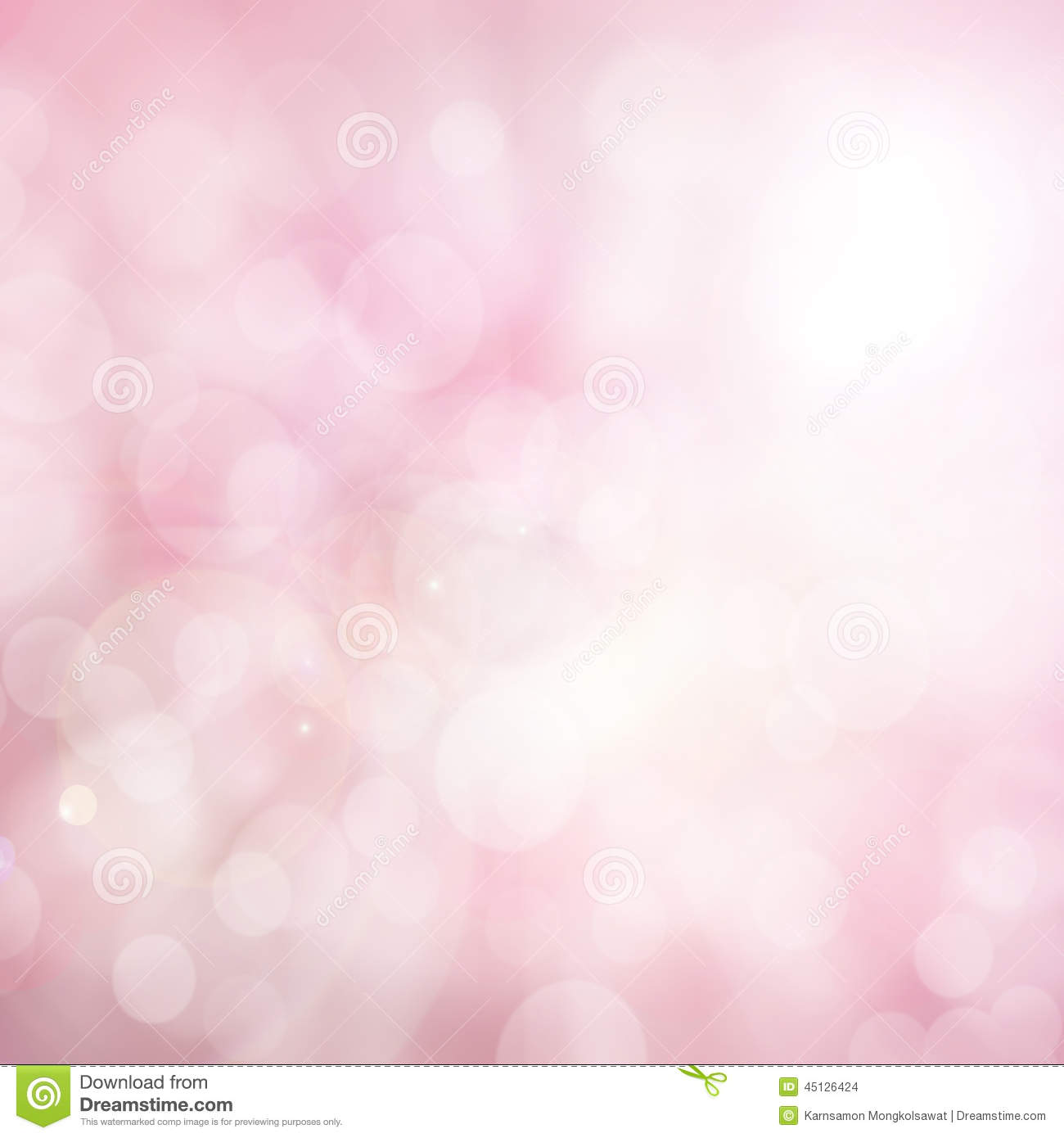 Abstract blurred color and bokeh background, pink and white.