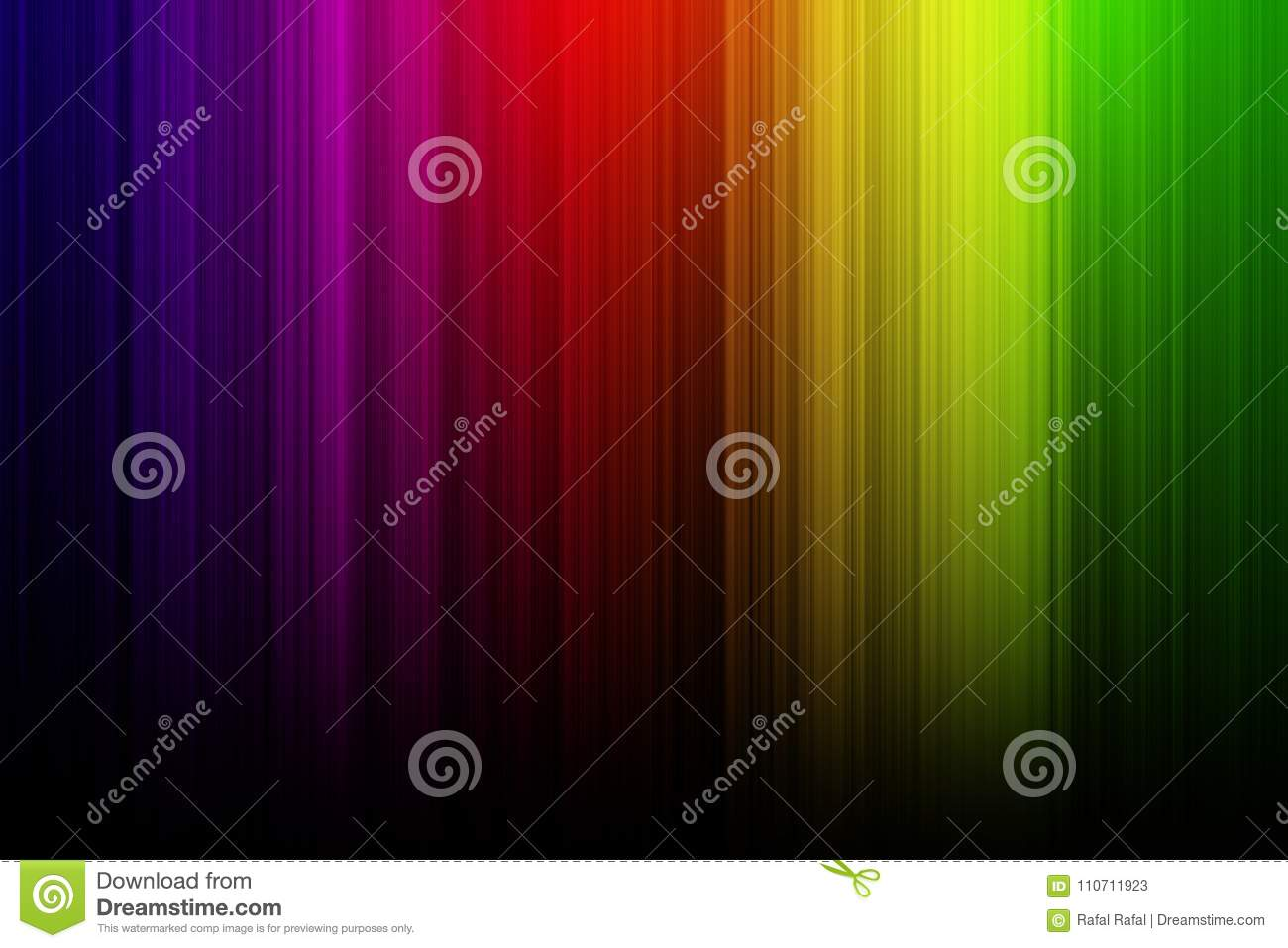 Abstract Blurred Colorful Wallpaper With Black Background Stock Illustration Illustration Of Element Decorative 110711923