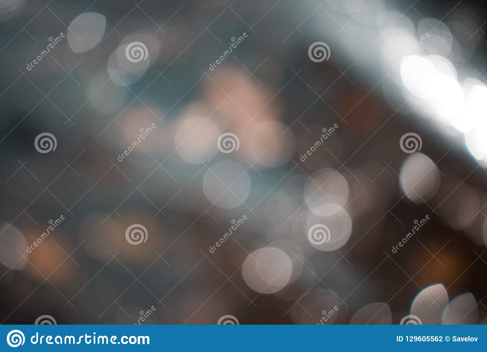 Abstract blurred gentle background with bokeh