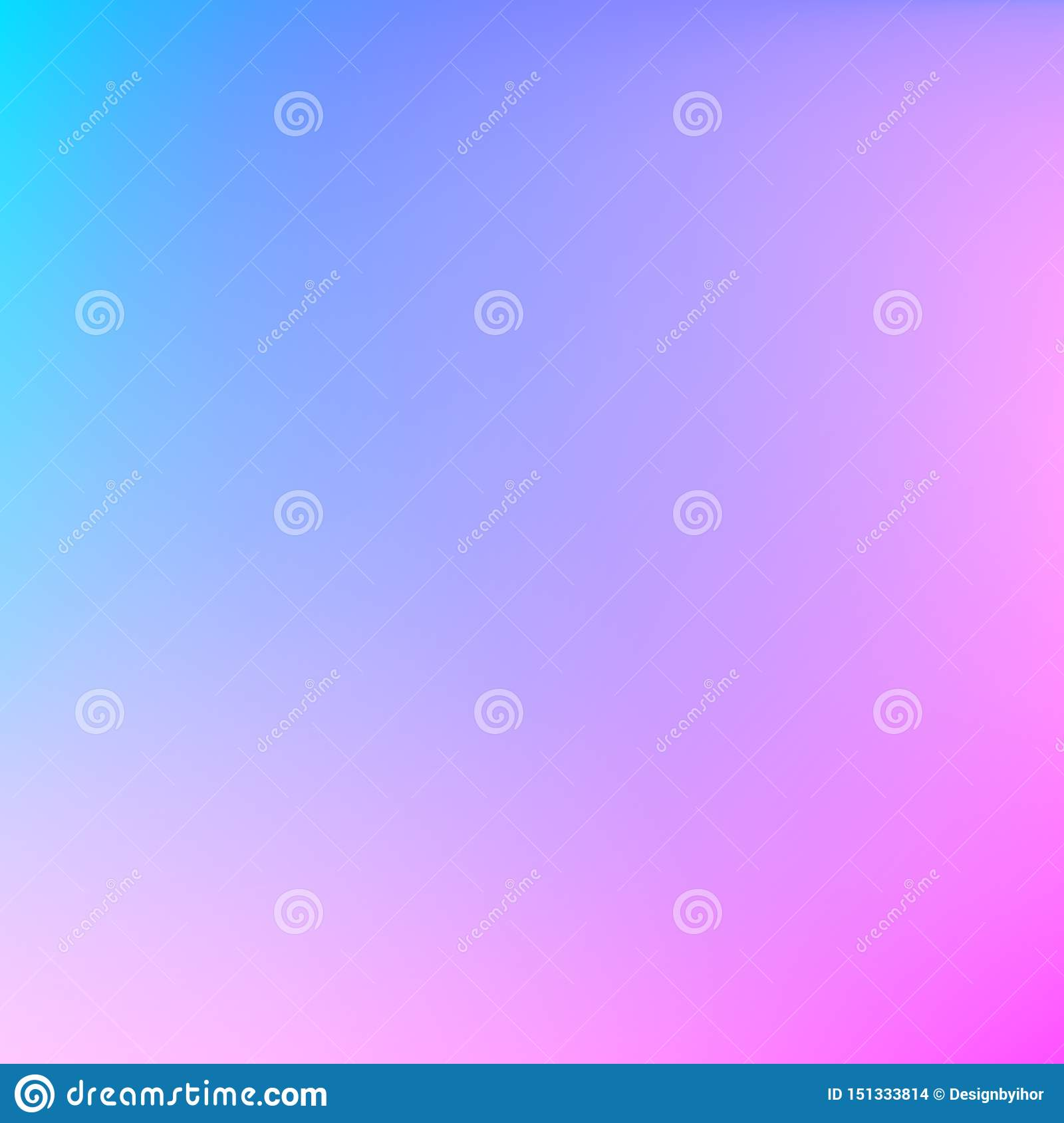 Abstract Blurred Gradient Mesh Background Pastel Blue And