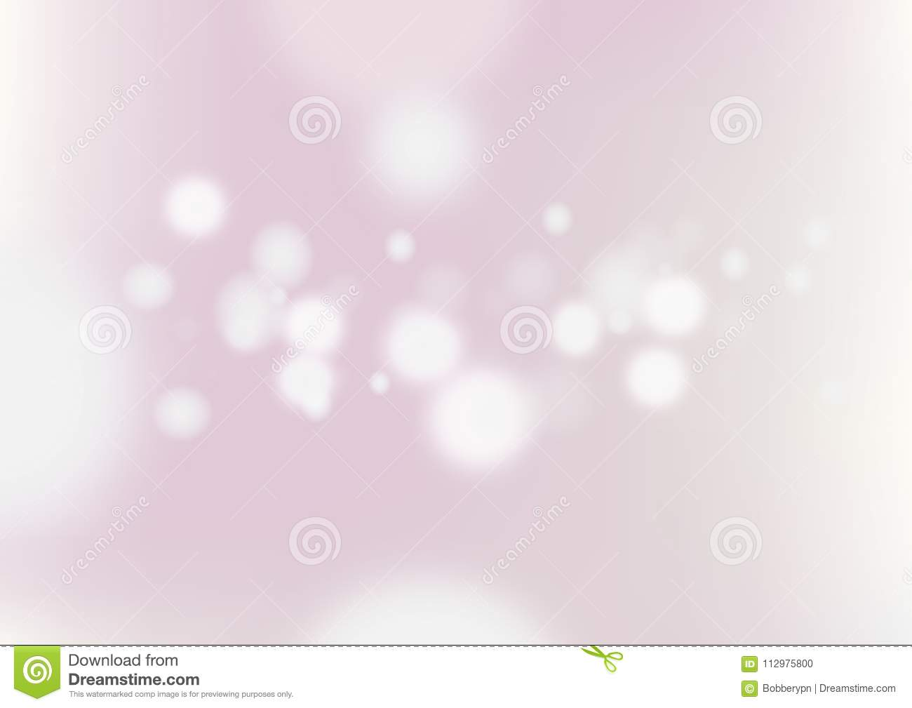 Abstract blurred pink background with light bokeh.