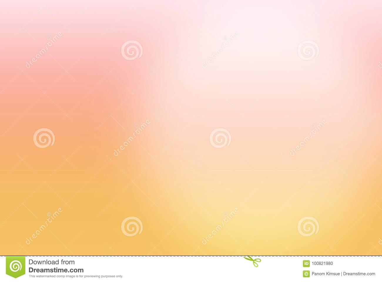 Abstract Blurred Pink Orange And Yellow Color Background With A