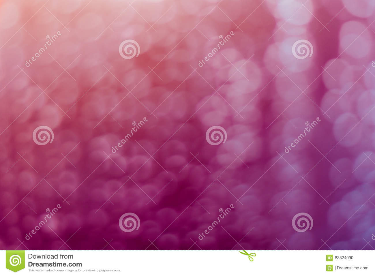 Abstract blurred pink sweet bokeh