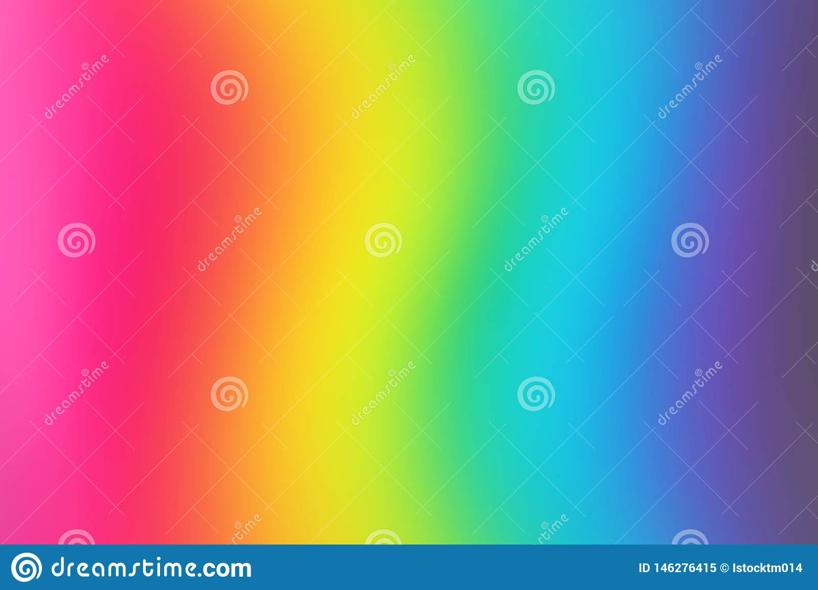 Abstract Blurred Rainbow Background Colorful Wallpaper