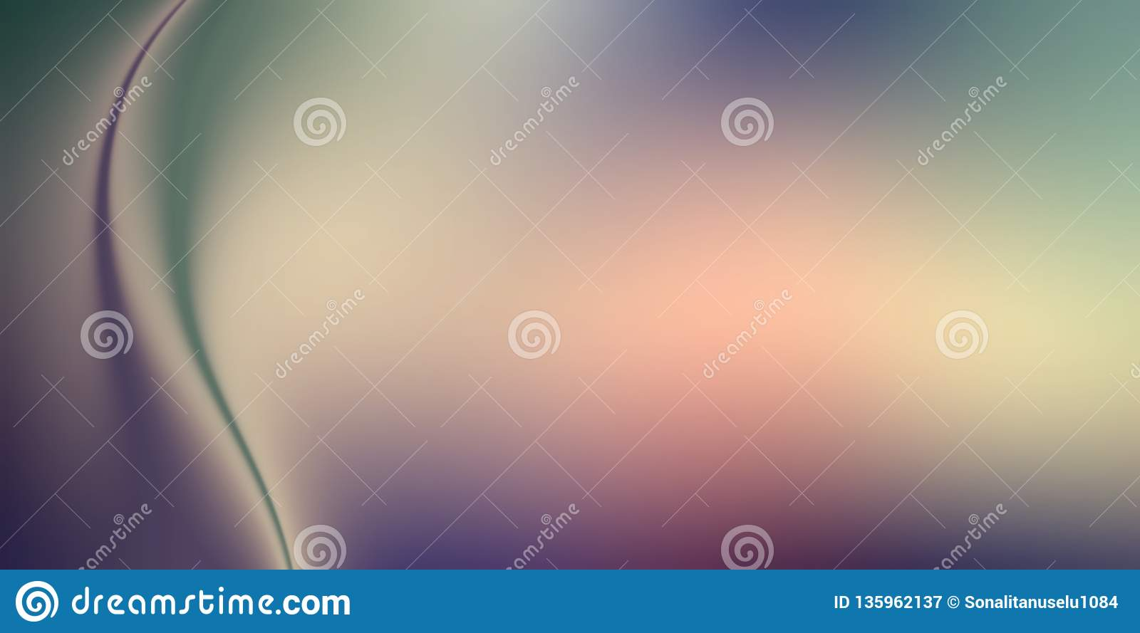 Abstract Blurry Background Wallpaper. Stock Illustration ...