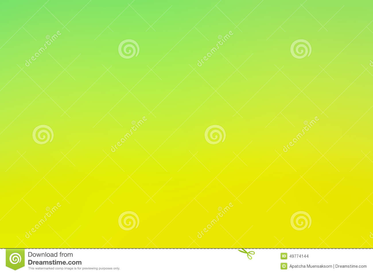 Abstract blurry green yellow color background
