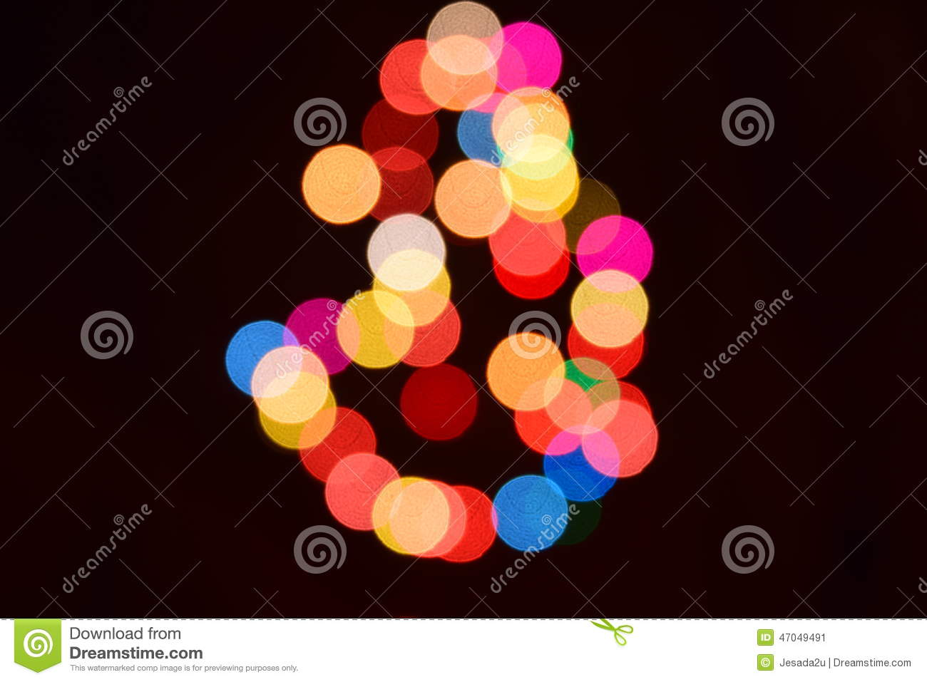 abstract bokeh background colorful lights effects