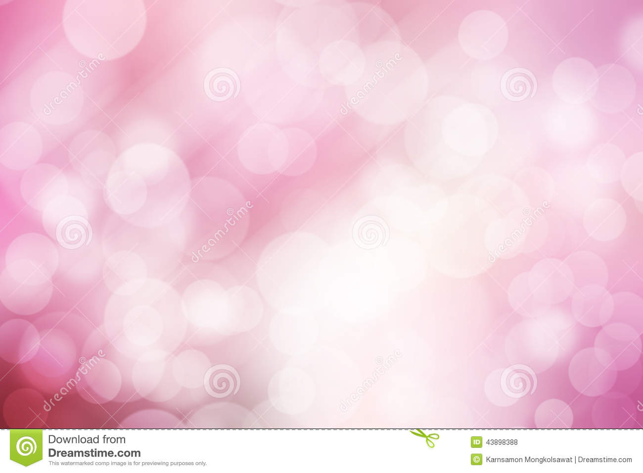 abstract bokeh background pink and white stock photo
