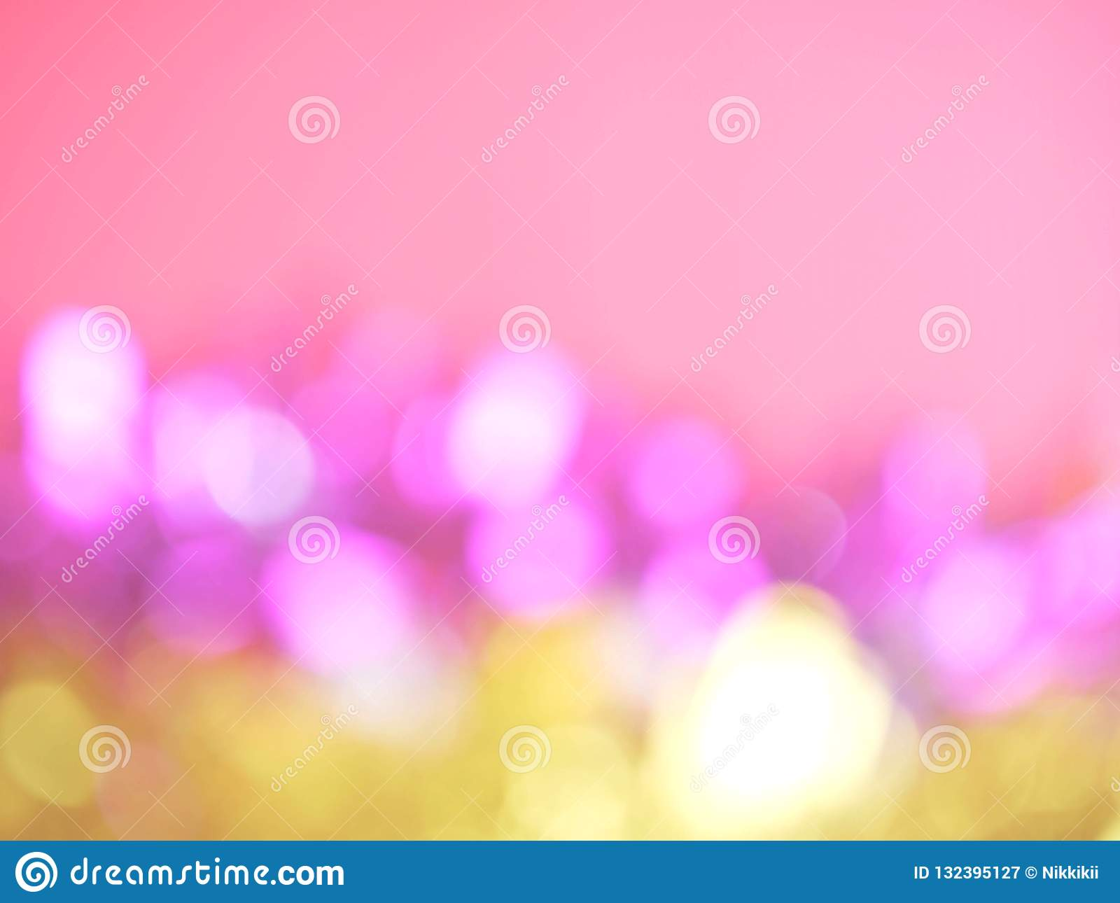 Abstract bokeh blurred background