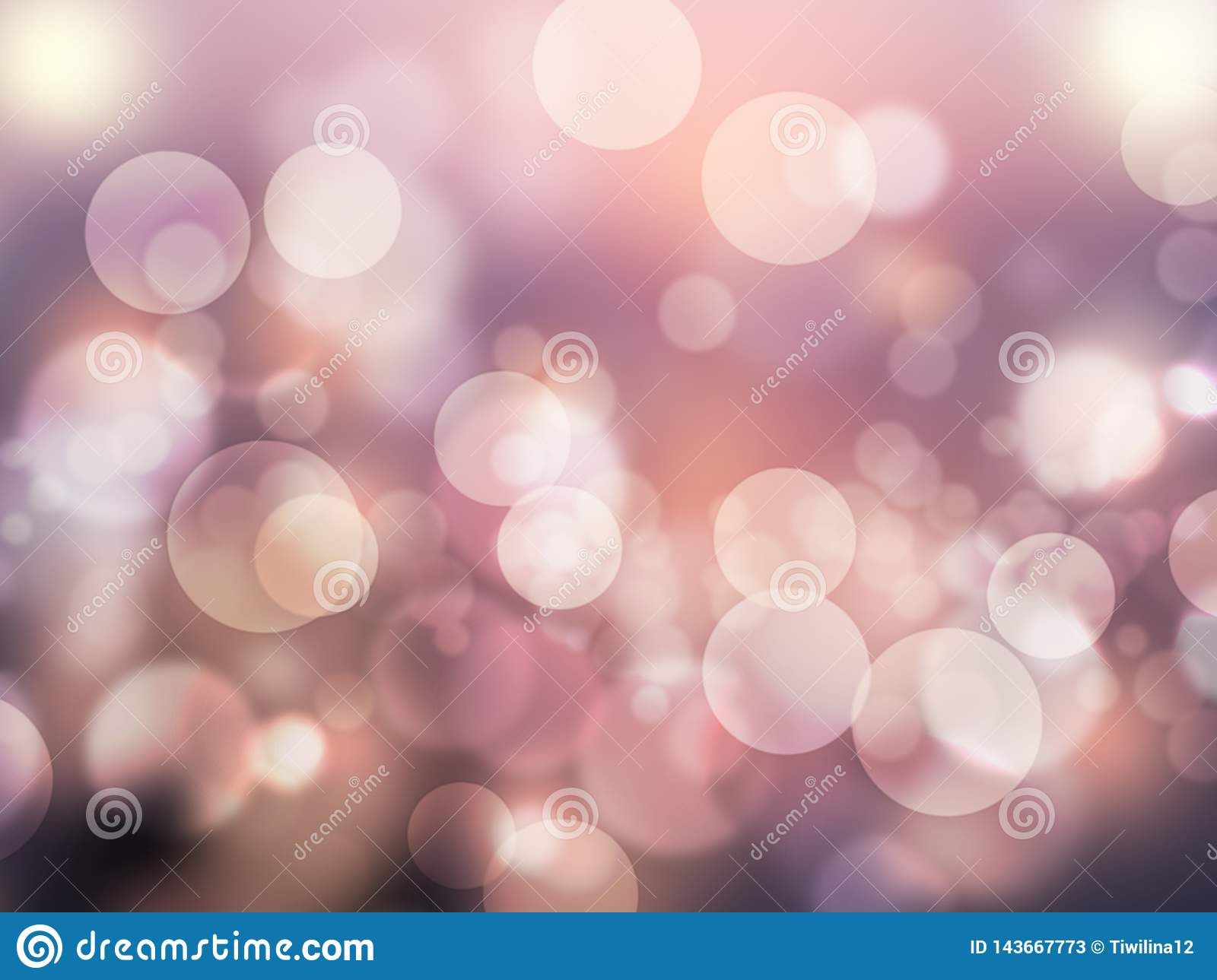 Abstract bokeh effect romantic purple abstract background shiny and blurred wallpaper