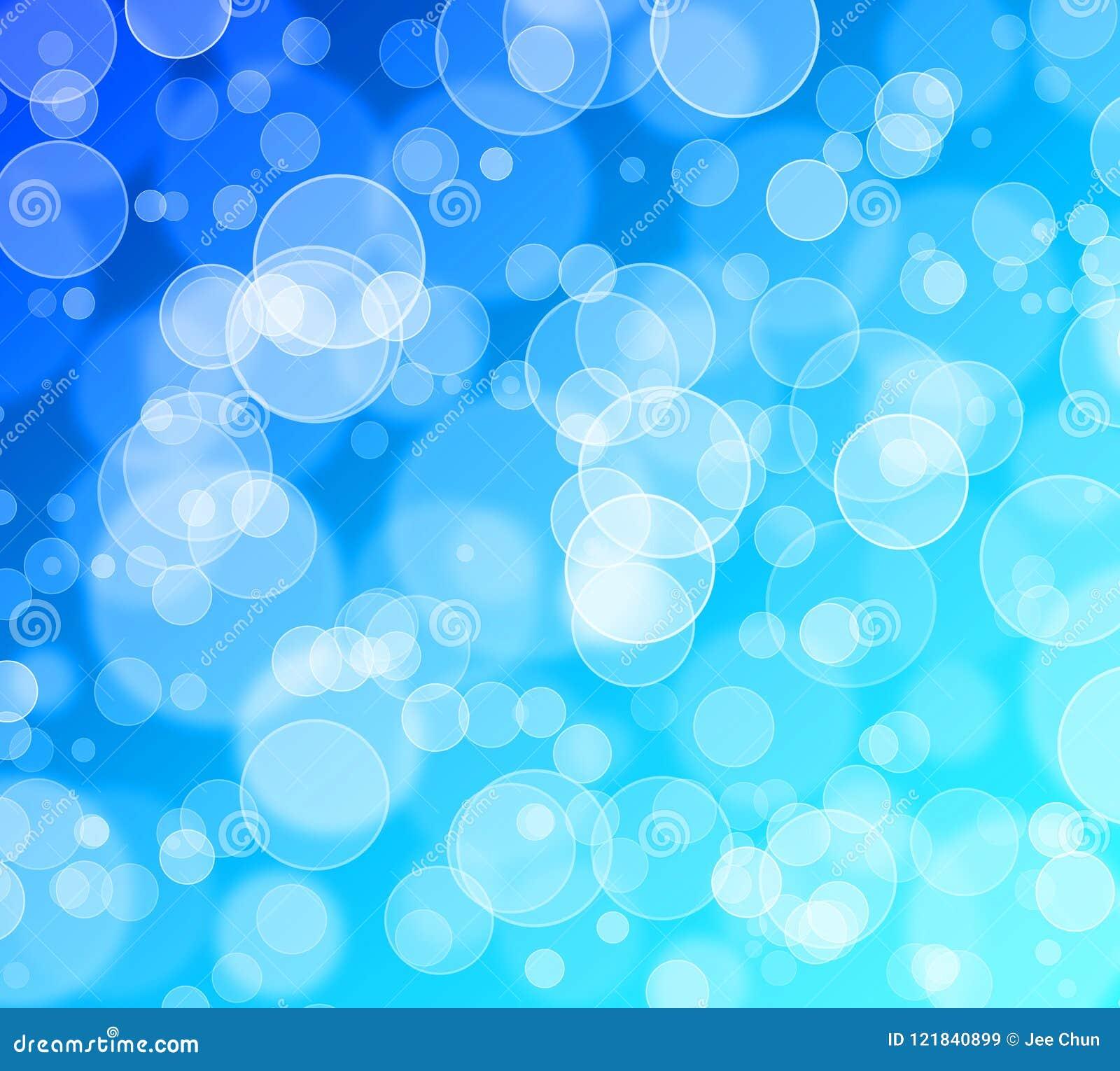 Abstract bokeh glitter background,blue,cyan.Festival,fantacy,celebration.Enjoy and happiness.